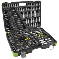 Caixa de ferramentas 216 peças cromado JBM